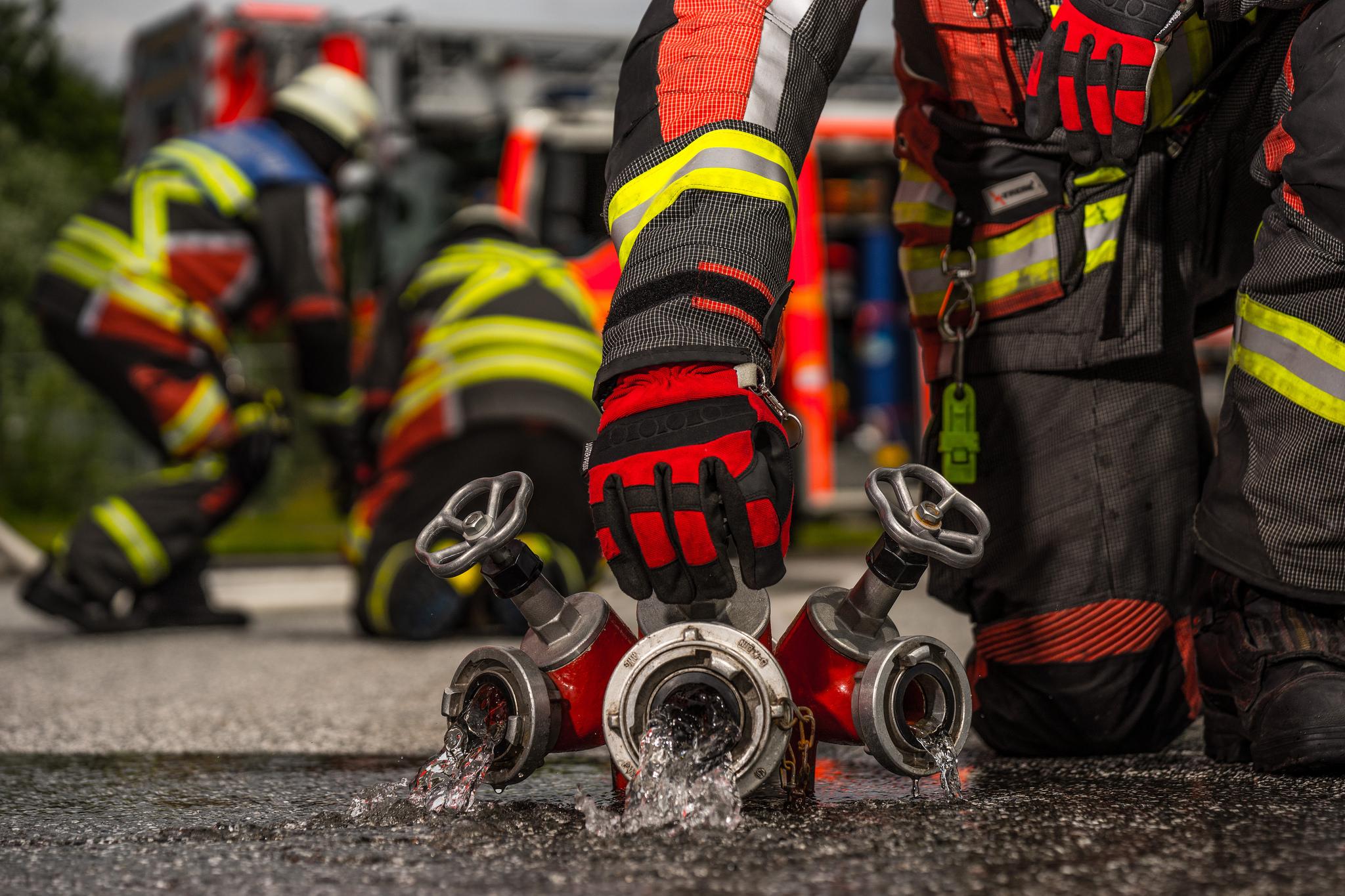 4 Brandeinsatz Feuerwehr Norderstedt