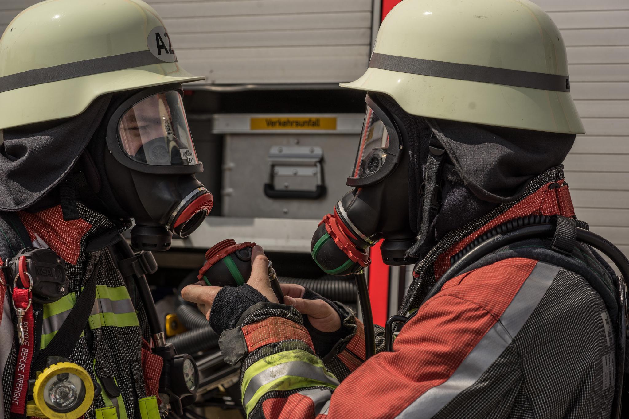 5 Brandeinsatz Feuerwehr Norderstedt