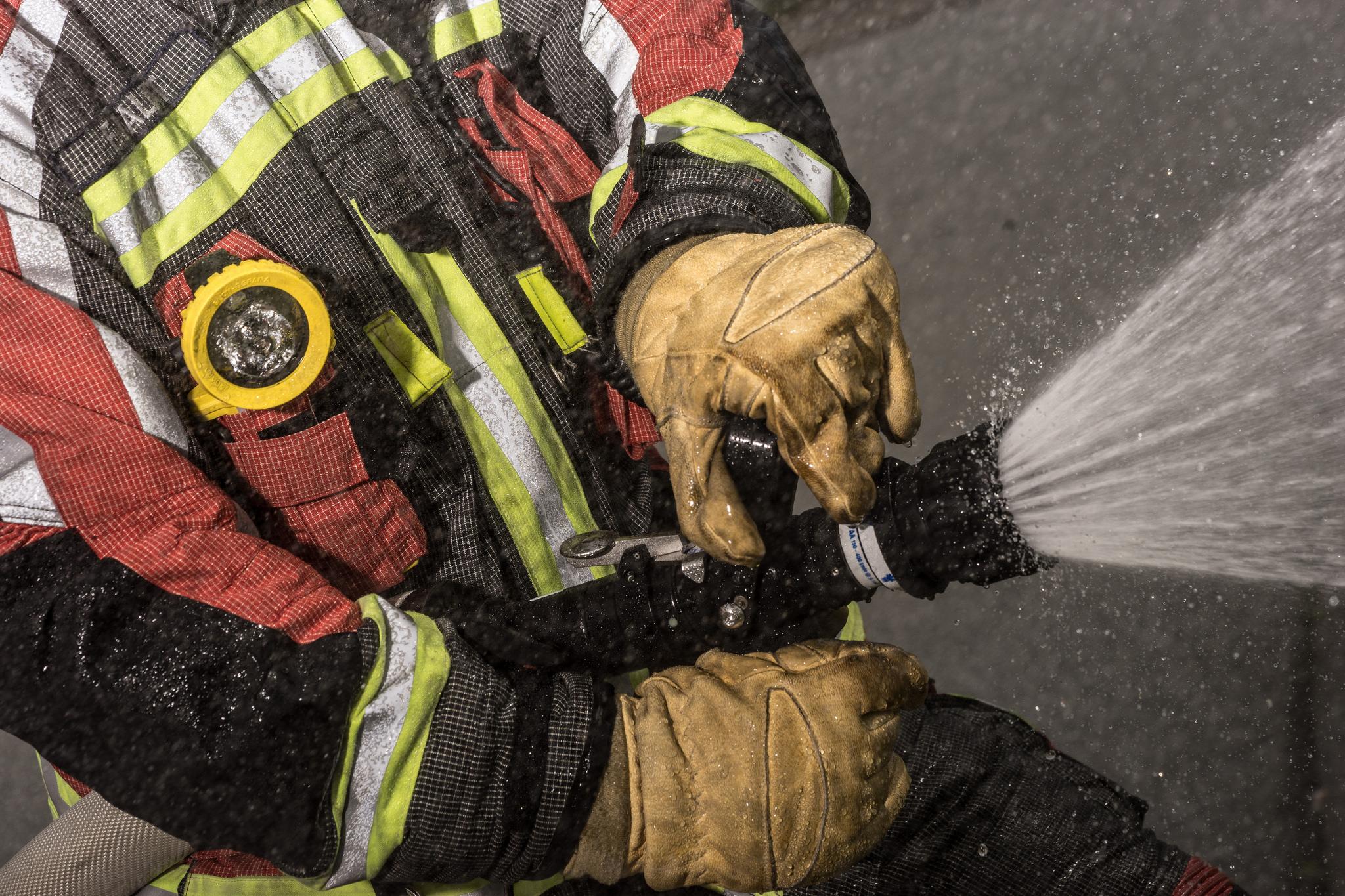 6 Brandeinsatz Feuerwehr Norderstedt